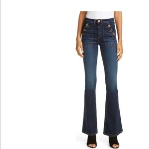 Veronica Beard Florence Flare Jeans